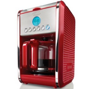 13839 BELLA Programmable 12-Cup Dots Collection Coffee Maker