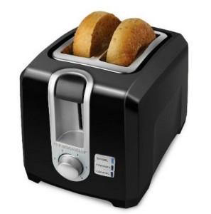 Black & Decker 2 Slice Black Toaster T2560B