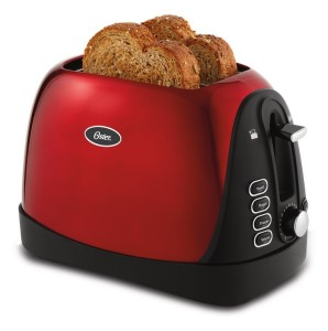 Oster 6307 Inspire 2 Slice Toaster Metallic Red