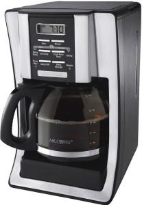 Mr. Coffee Programmable 12-Cup BVMC-SJX33GT Coffeemaker Chrome