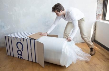 casper mattress unpacking